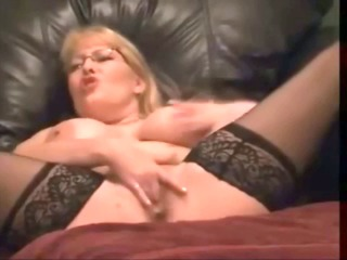 breasty mother i with glasses squirting