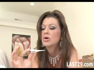 mature housewife acquires filled