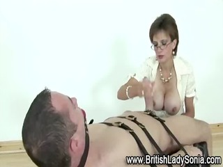 older femdom servitude tugjob
