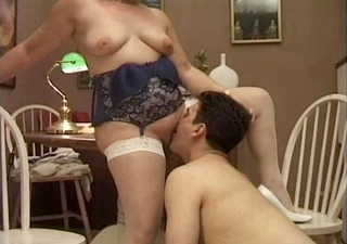 mature italian teacher and the youthful student -