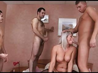 russian mature group-sex