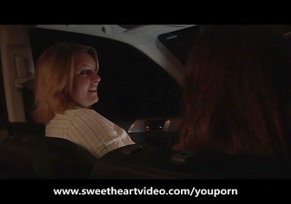 lesbian hitchhiker gets picked up and screwed hard